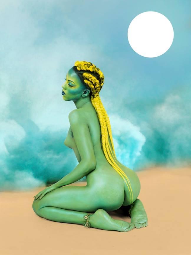 Juliana Huxtable, Untitled in the Rage (Nibiru Cataclysm), 2015