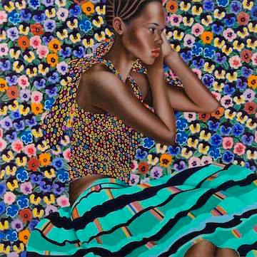 Jocelyn Hobbie, Abundance, 2015 Oil on canvas 36 x 36 inches Private Collection, New York, NY