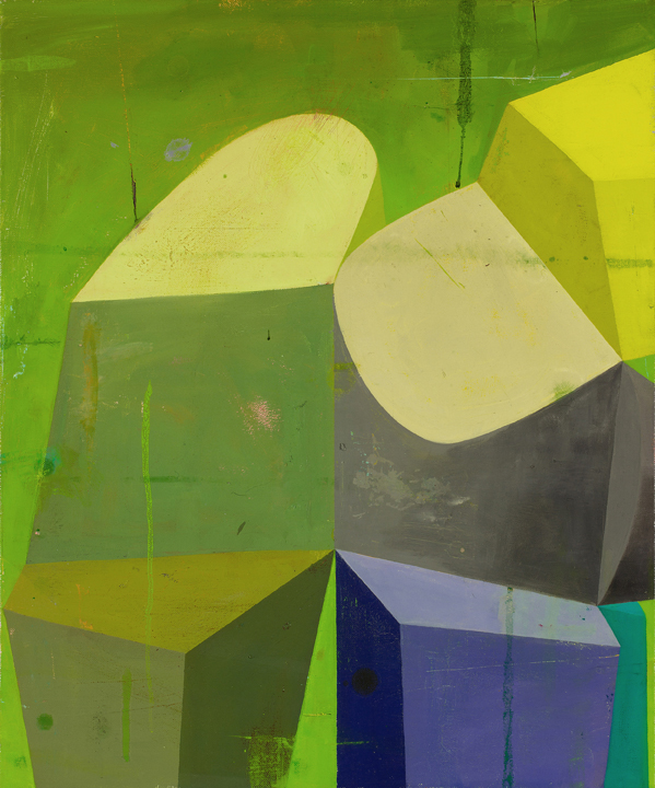 Deborah Zlotsky, Sotto Voce, oil on canvas, 2014