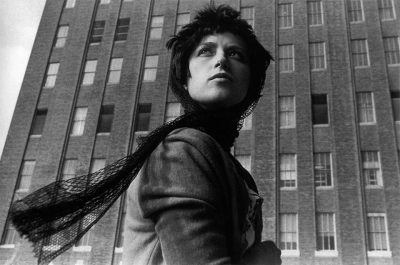Cindy Sherman, Untitled #58, 1978 Black & white photography 27 5/8 x 38 3/4 inches Private Collection, New York, NY