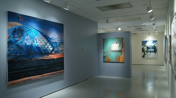 Contemporary Art gallery at UConn