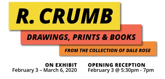 R Crumb exhibit art